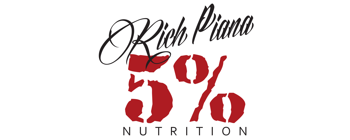 Rich Piana 5% Nutrition Supplements