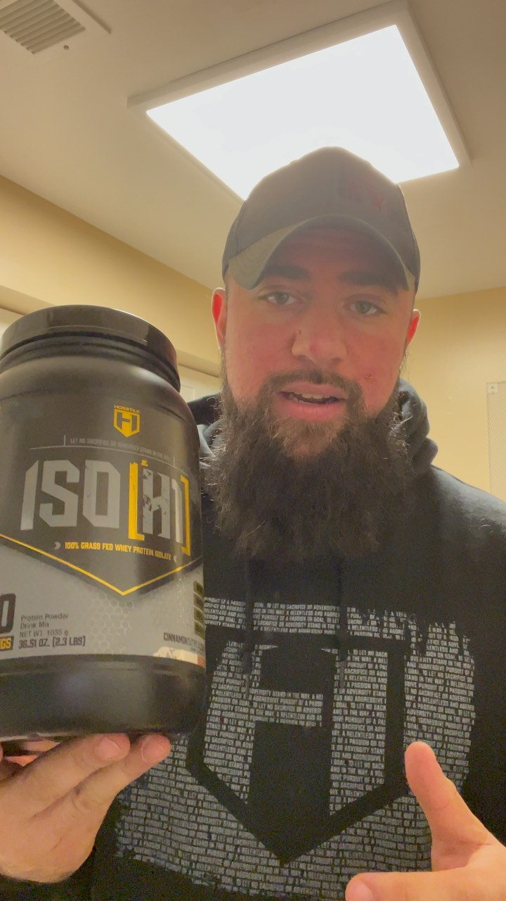 @hosstilesupps ISO[H1] cinnamon oatmeal cookie flavor review