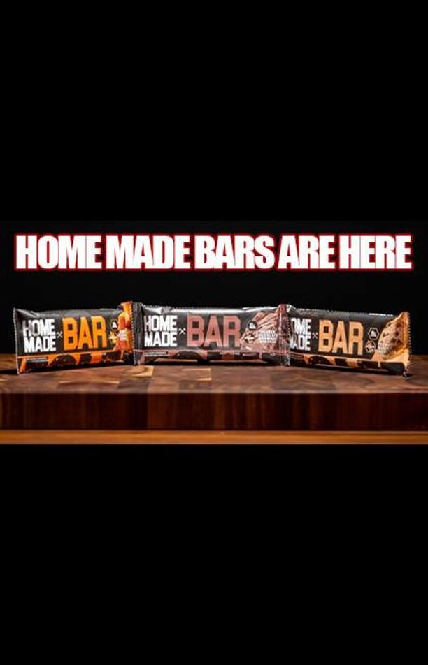 @axeandsledge HOME MADE BARS!