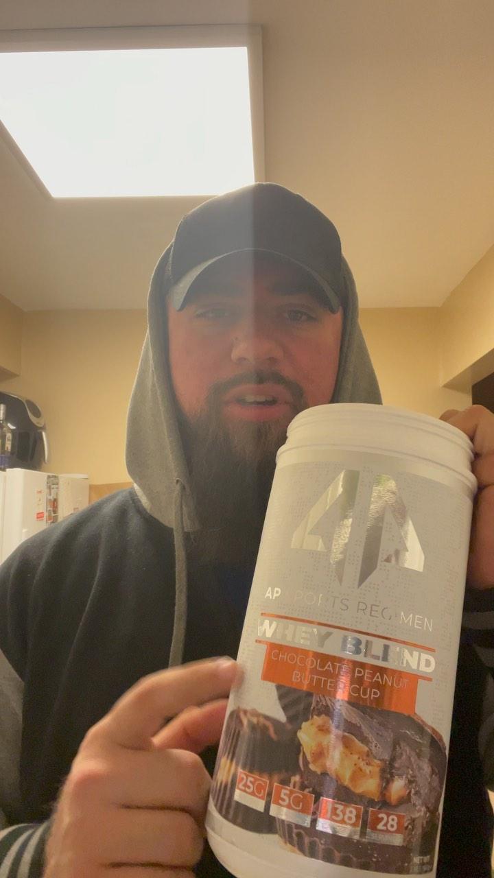 Quick easy calories with @apsportsregimen protein