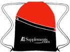 A1Supplements.com Drawstring Backpack