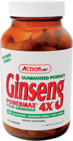 Action Labs Ginseng Powermax 4X