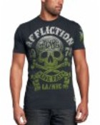 Affliction Skull Club Tee
