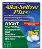 Alka-Seltzer Plus Night Time Cold