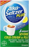 Alka-Seltzer Plus Severe Cold Cough and Flu Night