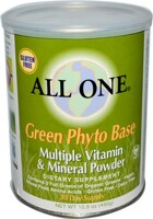 ALL ONE Multiple Vitamins & Minerals - Green Phyto Base