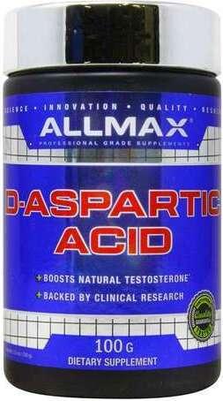 D Aspartic Acid AllMax Nutrition | New...