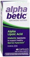 alpha betic Alpha Lipoic Acid