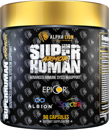 Alpha Lion SuperHuman ARMOR: Equip Your Immune System For Battle