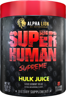 Alpha Lion SuperHuman SUPREME: Back and Better Than Ever!