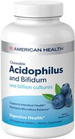 American Health Chewable Acidophilus with Bifidus