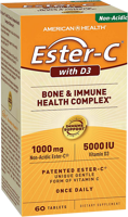 American Health Ester-C with D3 - Bone and Immune Health Complex