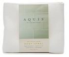 Aquis Microfiber Body Towel, Extra Large, White