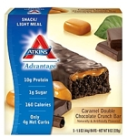 Atkins Caramel Double Chocolate Crunch Bar