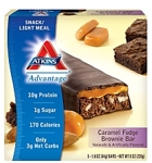 Atkins Caramel Fudge Brownie Bar