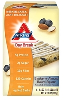 Atkins Day Break Blueberry Almond Baked Square