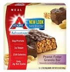 Atkins Peanut Fudge Granola Bar