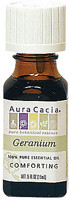 Aura Cacia Geranium - 100% Pure Essential Oil