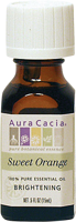 Aura Cacia Sweet Orange 100% Pure Essential Oil