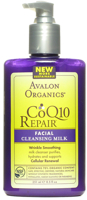 Avalon Organics CoQ10 Enzyme Skin Care Facial Cleansing Milk