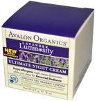 Avalon Organics Ultimate Night Cream