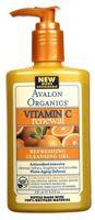 Avalon Organics Vitamin C Sun-Aging Defense Refreshing Cleansing Gel