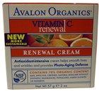 Avalon Organics Vitamin C Sun-Aging Defense Renewal Facial Cream