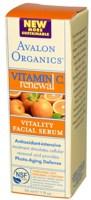Avalon Organics Vitamin C Sun-Aging Defense Vitality Facial Serum