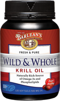 Barlean's Wild & Whole Krill Oil