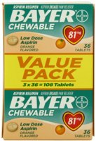 Bayer Low Dose Aspirin (81mg)