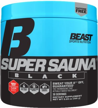 Super Sauna Black