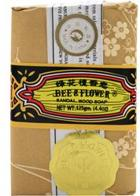 Bee and Flower Sandal Wood Soap