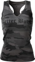 Better Bodies Women's V-Neck Cut Rib Tank