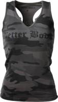 Better Bodies Women's V-Neck Cut Rib Tank