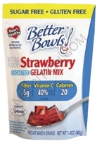 Better Bowls Sugar Free Gelatin Mix
