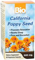 Bio Nutrition California Poppy Seed
