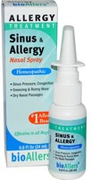 bioAllers Allergy Treatment - Sinus & Allergy Nasal Spray