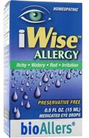 bioAllers iWise Allergy - Medicated Eye Drops