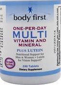 Body First Multivitamin with Lutein