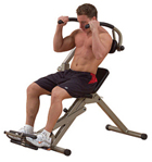 Body-Solid Best Fitness Semi-Recumbent Ab Bench