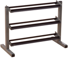 Body-Solid Body Solid 3 Tier Horizontal Dumbbell Rack