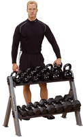 Body-Solid Body Solid Kettle Bell Storage Rack (Dumbbells & Kettlebells Not Included)