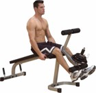Body-Solid Powerline Leg Extension/Curl Machine