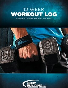bodybuilding 12 week workout log  save at priceplow