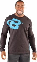 Bodybuilding.com Core B Swoosh Long Sleeve Tee