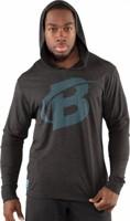Bodybuilding.com Core Diagonal Long Sleeve Hoodie