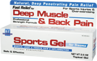 Boericke and Tafel Sports Gel