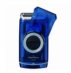 Braun MobileShave Shaver, M60B, Blue Tansparent