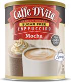 Caffe D'Vita Sugar Free Premium Instant Cappuccino