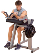 Cam Series Body Solid  Bicep & Tricep Machine